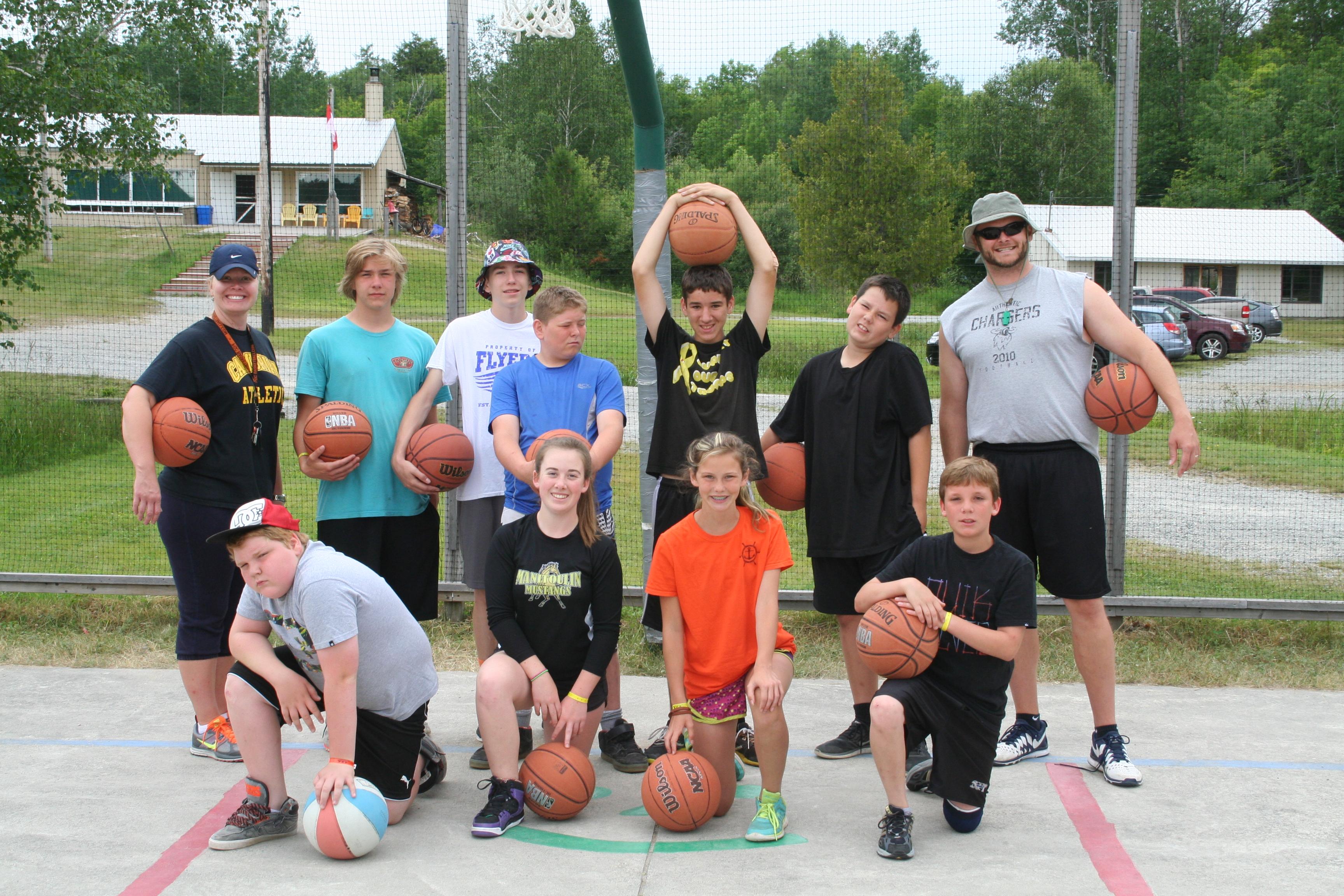 camp teen sports